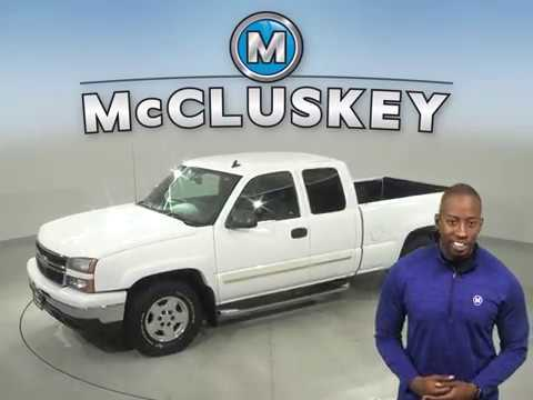 A16696YT Used 2007 Chevrolet Silverado 1500 White Truck Test Drive, Review, For Sale -