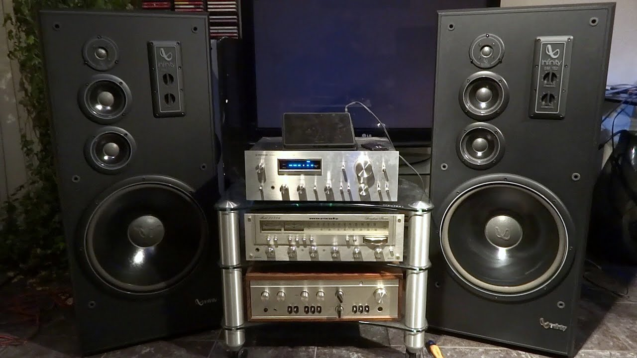Infinity Sm 152 Sound Test On Pioneer Sa 708 Love Of My