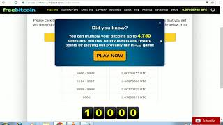 Freebitco.in - Hack 10000 Rolling Script $ 0.5 BTC  every Roll - facts with proofs
