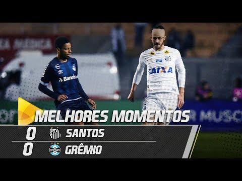 Santos 0 x 0 Grêmio | MELHORES MOMENTOS | Brasileirão (06/09/18)