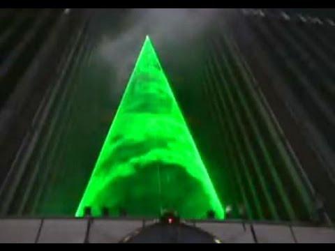 nusalt laser light shows Christmas Tree Show YouTube
