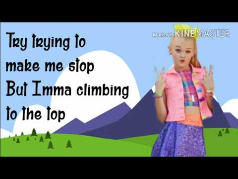 BOOMERANG   Jojo Siwa   Lyrics Video (3 CLS #1 Favorite Jo Jo Video)
