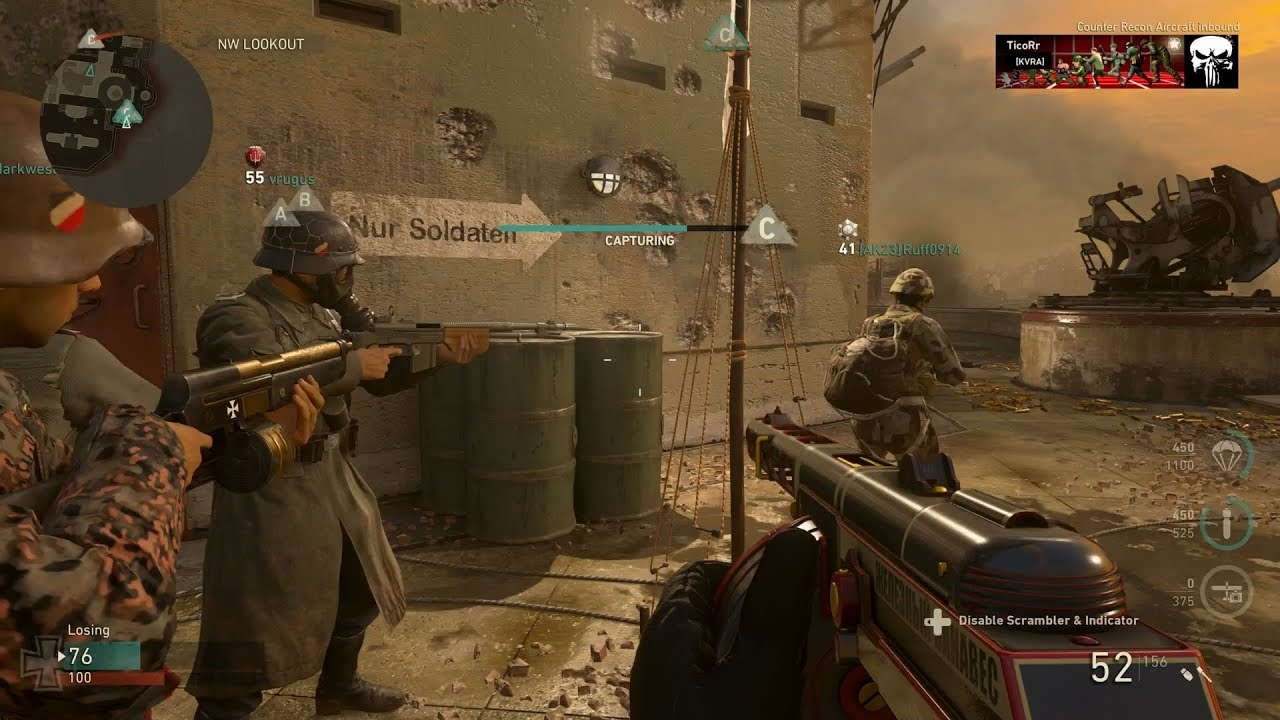 rules Cod4 objective domination