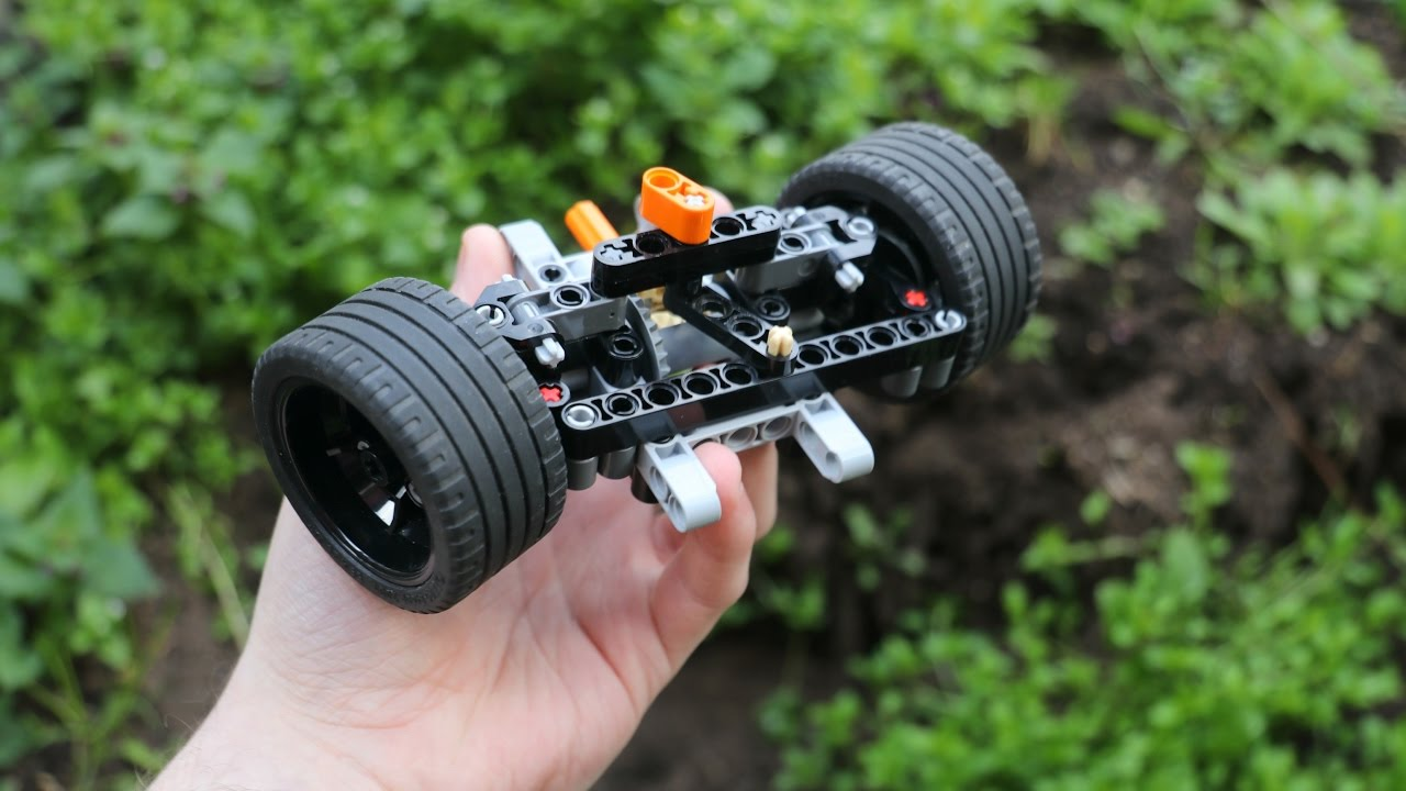 Lego Technic Driven Front Axle W Instructions Youtube