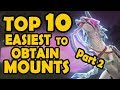 Top 10 Easiest Mounts to Obtain in WoW (Part 2)