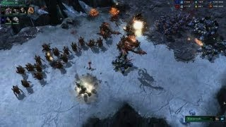 StarCraft II: Heart of the Swarm - Battle Report (Terran vs Zerg)