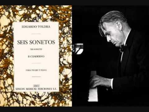 """Eduard Toldrà - «Oració al maig» de """"Sis sonets"""" (1922)"""