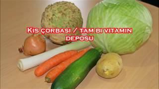 Kış çorbası ☆ tam bir vitamin deposu
