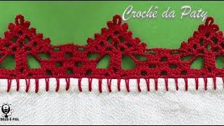 Aprenda a Fazer Barradinho de Crochê – Super Fácil