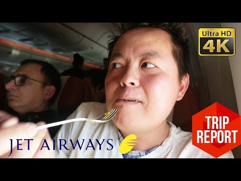 Trip Report (4K) - Jet Airways 9W234 Economy Class: Amsterdam to Toronto (AMS - YYZ)