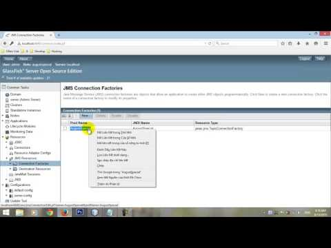 Create A Chat Room JMS Application Using Netbeans And Glassfish