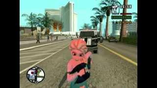 Elsa VS SWAT - GTA SA (FROZEN)