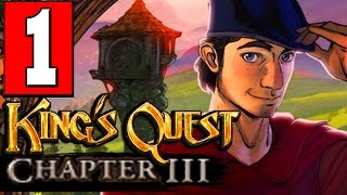 Kings Quest Chapter 3: Once Upon a Climb Walkthrough Part 1 Lets Playthrough Review PS4 XBOX PC