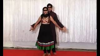 Indian Bollywood Dance Performance - Suraj Hua Madham Blindfold Dance at Sangeet