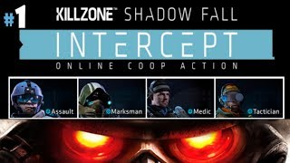 Killzone Shadow Fall Intercept Coop DMZ Regular Part 1