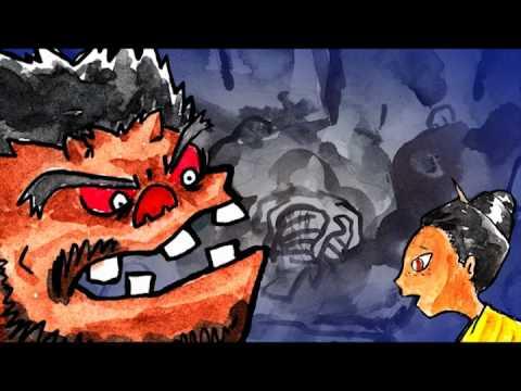 沖縄のむかしばなし【鬼ムーチー】 沖縄昔ばなし動く絵本DVD【琉心ばなし】より
