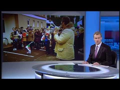 Rali'r Cyfrif: Safiad Sir Gâr ar Newyddion BBC Cymru (S4C, 19 Ionawr 2013)