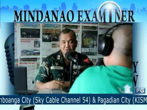 Mindanao Examiner Tele-Radyo Jan. 18, 2013 - Today's Guest: