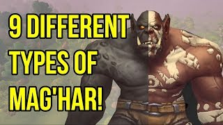 Mag'har Orcs - Which Class and Skin Should You Pick? | WoW BfA | Legion | Lore and History