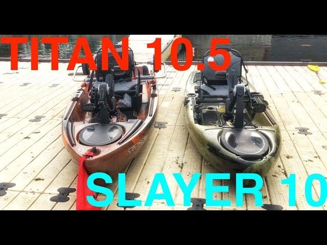 TITAN 10.5 vs SLAYER 10