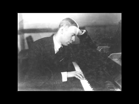 Prokofiev Tarentella in D minor