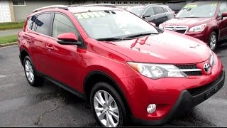 2013 Toyota Rav4 Limited AWD Walkaround, Start up, Tour and Overview