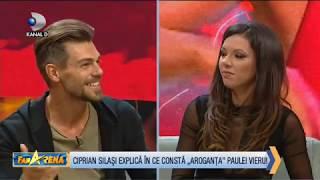 """FanArena (14.11.2018) - Ciprian Silasi explica in ce consta """"aroganta"""" Paulei Vieru! Partea 1"""