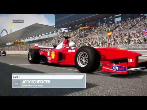 F1 2013 - '90s Classic Race - Japan - Ferrari F399 (Eddie Irvine)
