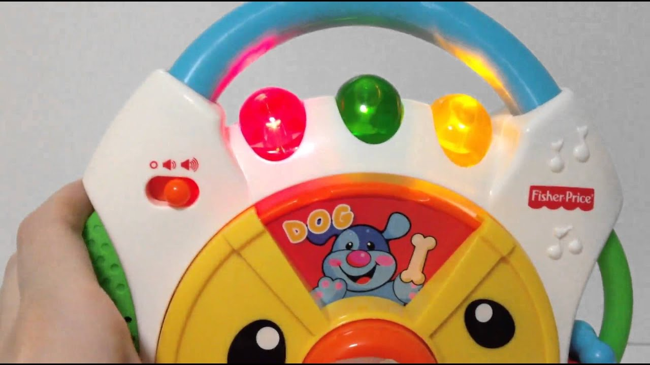 Fisher Price Laugh Learn Nursery Rhymes Cd Player Toy Unboxing