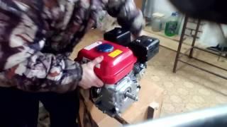 видео Двигатель для мотоблока