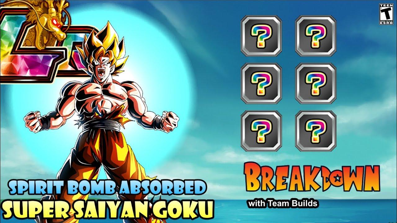 Lr Spirit Bomb Absorbed Goku Breakdown W Team Builds Global Dragon Ball Z Dokkan Battle Youtube