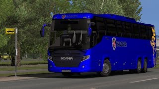 [1.33] Euro Truck Simulator 2 |  Scania Touring HD | Mods