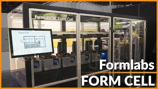 Formlabs Form Cell - SLA Print Farm | CES 2018