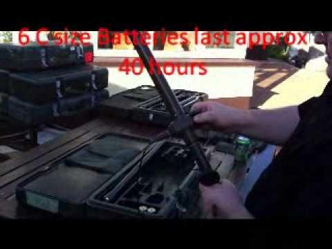 Metal detector army