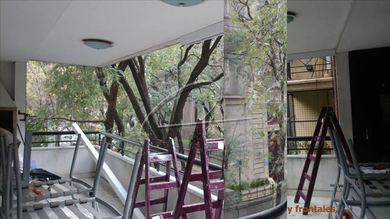 Cerramientos de balcones con cristales templados eco alum s r l youtube - Cerramientos de balcones ...