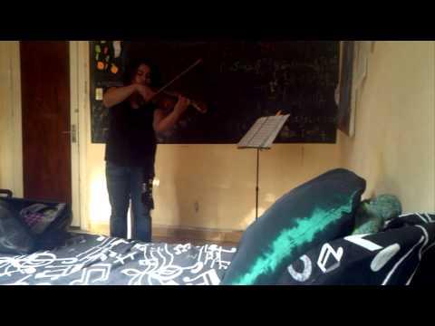 AVJV Siciliana Sonata 1 Para Violín Solo. Bach, J.S. BWV 1001