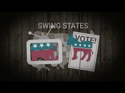 US-Präsidentschaftswahlen: Was sind eigentlich Swing States?