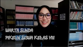 WARTA SUNDA / MATERI PIKEUN SISWA KELAS VIII