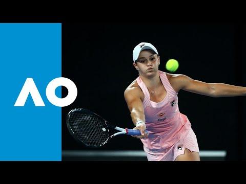 Ashleigh Barty v Maria Sakkari match highlights (3R)   Australian Open 2019