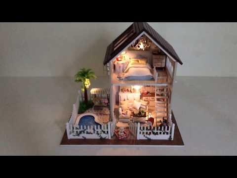 PlayAge DIY Dollhouse - Paris Apartment - 🇫🇷🏰🏠🚋🚕