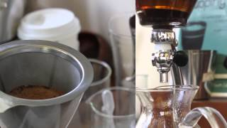 How to brew coffee using the Silverton (storyboard)