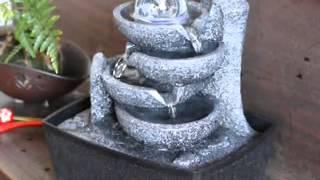 ミニ噴水-ポンプ仕様の循環式のおしゃれな噴水