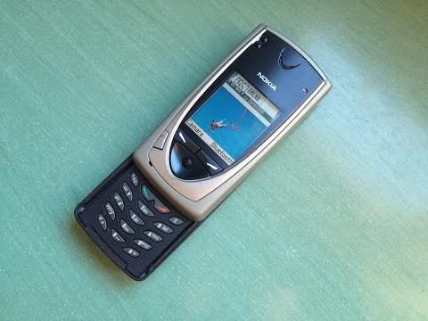 Nokia 7650 retro review (first Symbian S60 phone including a camera)