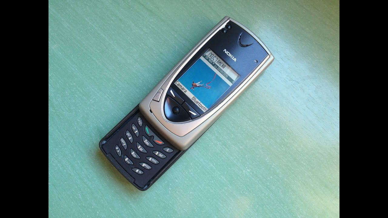Nokia 7650 retro review (first Symbian S60 phone including ...