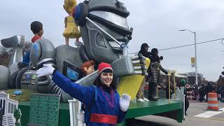 Scenes from the 91st annual America's Thanksgiving Parade in Detroit