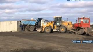 В Якутии идет завершающий этап перевозки грузов в районы Крайнего Севера(, 2015-09-18T05:07:40.000Z)