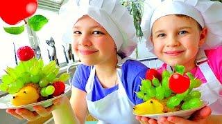 Грушевый Ёжик. Рецепты для детей. Развивающие видео.