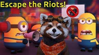 Roblox ESCAPE THE MINIONS!!  Играем в Роблокс. Миньены.