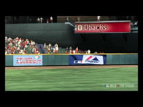 MLB 11 The Show - Cardinals@Diamondbacks: Damian Miller Walkoff Homerun