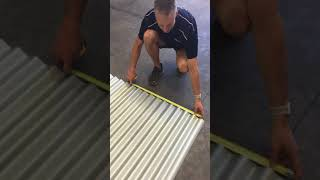 How To Corrugated Iron Cover Width,  How Many Sheets? | Metal Roofing Online